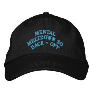 MENTAL MELTDOWN BASEBALL CAP