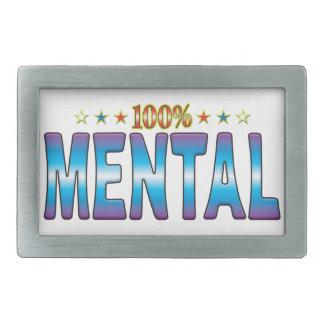 Mental Star Tag v2 Belt Buckles