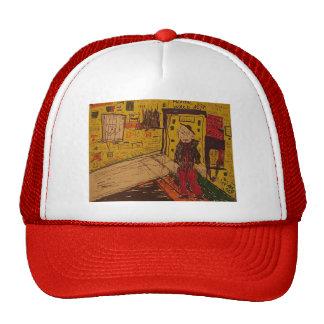 mental ward drawing hat