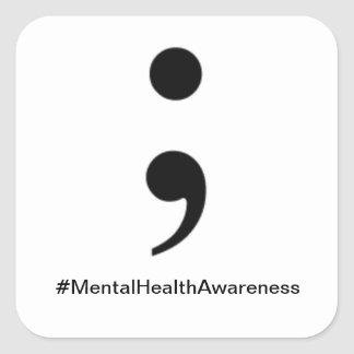 #MentalHealthAwareness Sticker