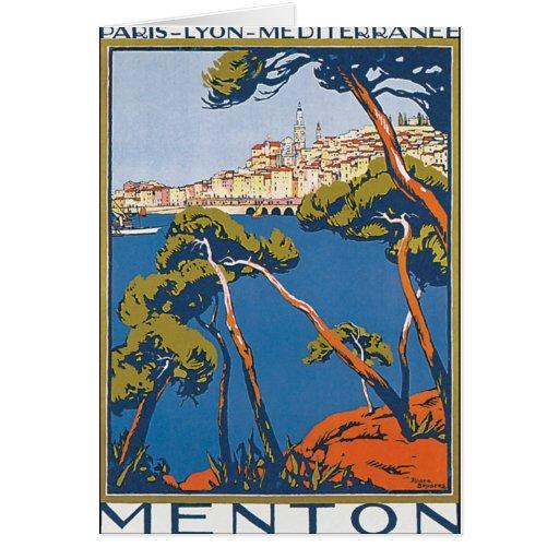 Menton Card