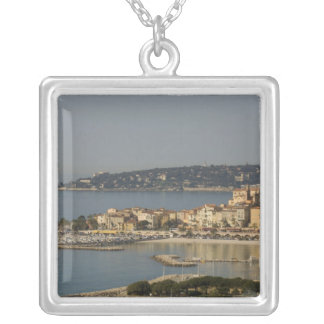 Menton, Cote d'Azur, France. Silver Plated Necklace
