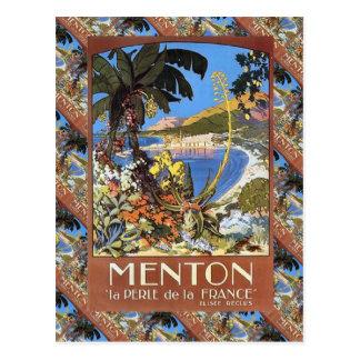 Menton, Le perle de la France Postcard