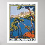 Menton Poster
