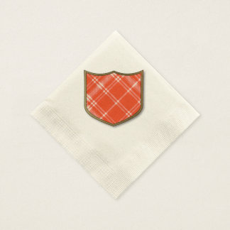Menzies clan Plaid Scottish tartan Disposable Napkins