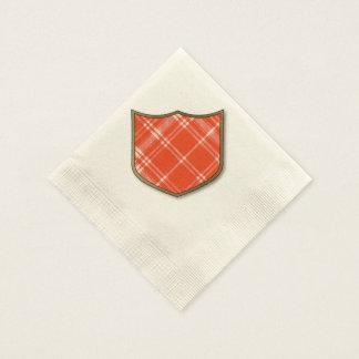 Menzies clan Plaid Scottish tartan Disposable Napkins