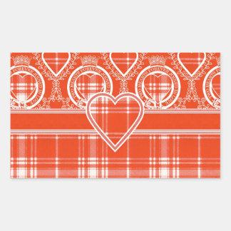 Menzies Scottish clan tartan - Plaid Sticker