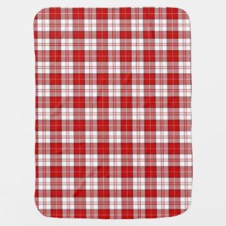 Menzies Tartan Plaid Swaddle Blanket