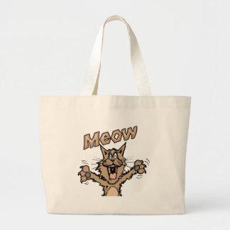 Meow Canvas Bag