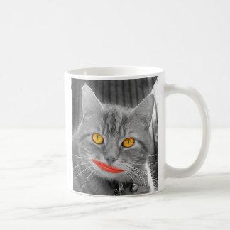 Meow Basic White Mug