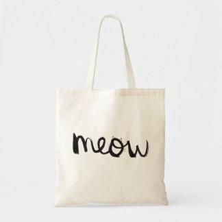 Meow Budget Tote Bag
