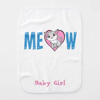 Meow Burp Cloth
