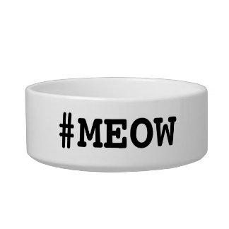 #MEOW Cat Food Dish