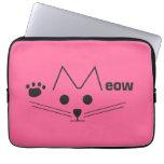 Meow Cat Laptop Sleeve