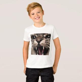 Meow Cat Yelling T-Shirt