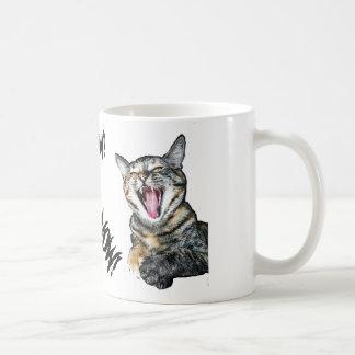 Meow! Coffee Now! Coffee Mug