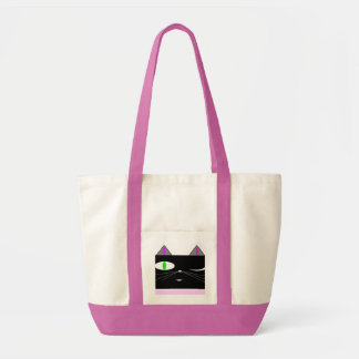meow is a state of mind impulse tote bag