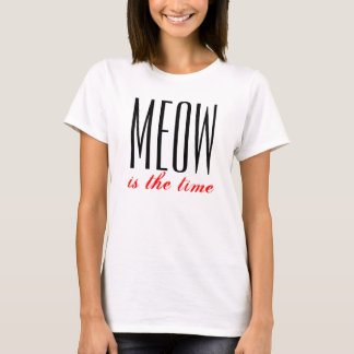 Meow is the time ladies top