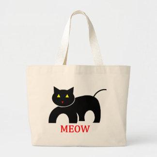 Meow Jumbo Tote Bag