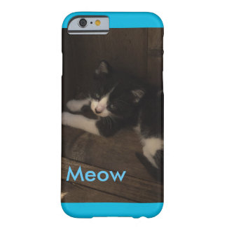 Meow Kitten Barely There iPhone 6 Case