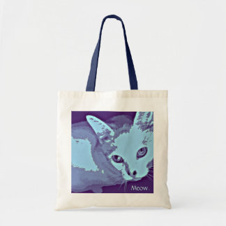 Meow Kitty Deco Tote Tote Bag