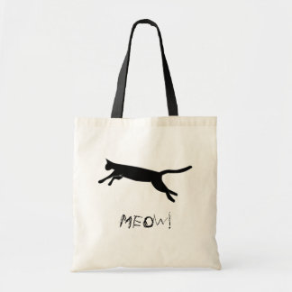 Meow Leaping Cat Bag