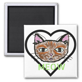 Meow Magnet