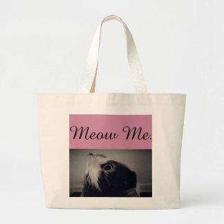 Meow Me Cat Jumbo Tote Bag