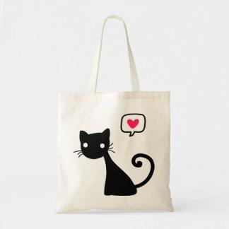 Meow Meow Budget Tote Bag