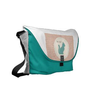 Meow Messenger Bag