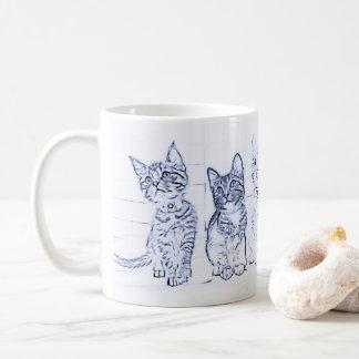 Meow Morning Kittens Coffee Mug