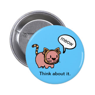 Meow Pig Button
