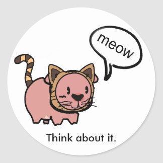 Meow Pig Stickers