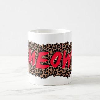 Meow Print Coffee Mug