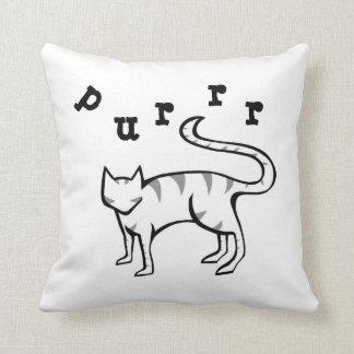 Meow & Purrr Kitty Pillow