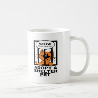 Meow (Save Me) Coffee Mug