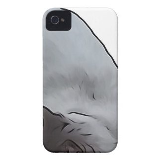 Meow - The Adventures Of jetty Cat iPhone 4 Cases
