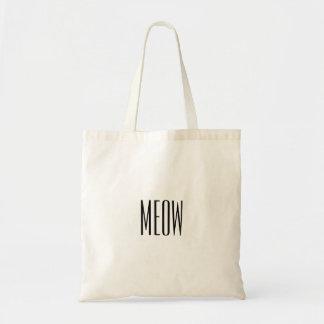 Meow Tote Budget Tote Bag