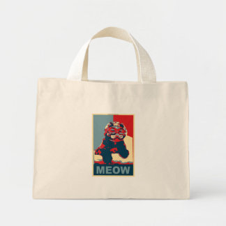 MEOW tote Mini Tote Bag