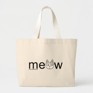 Meow Wear Canvas Bags
