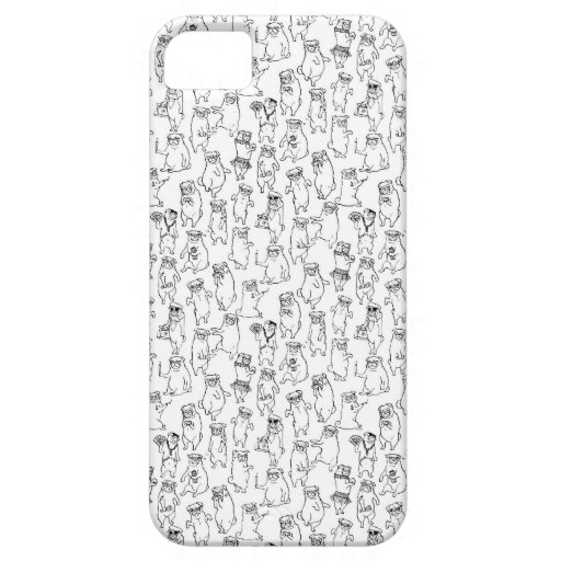 MeowBitch Pugs behaving Badly iphone 5/5s case