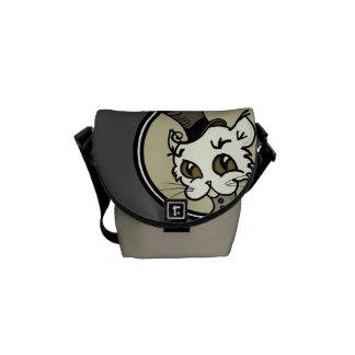 MEOWINGTON KITTENSWORTH KITTY CAT MESSENGER BAG