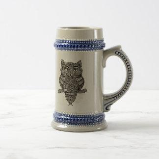 Meowl Beer Stein