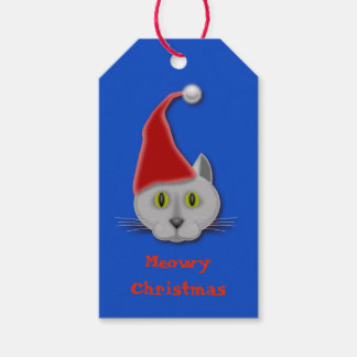 Meows Christmas Gift Tag