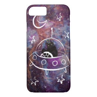 Meowstronaut Scooter Undercover Alien Phone Case