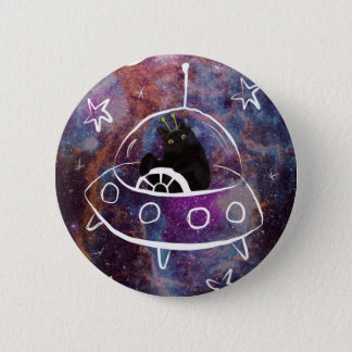 Meowstronaut  Scooter Undercover Alien Pin