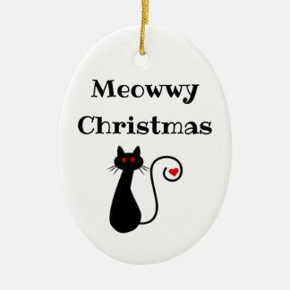 Meowwy Christmas Ornament