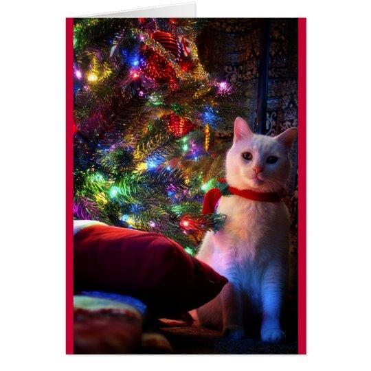 Meowy Catmas Greeting Card
