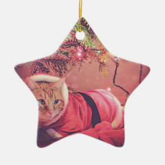 Meowy Christmas Christmas Ornament