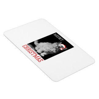 Meowy Christmas Vinyl Magnets